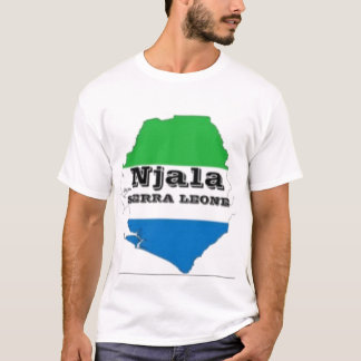 CAMISETA del SIERRA LEONE No1 Y etc