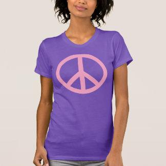 Camiseta del signo de la paz