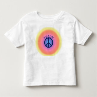 Camiseta del signo de la paz playera
