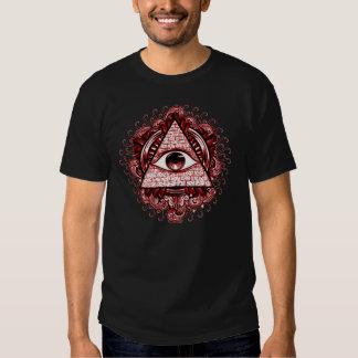 Camiseta del símbolo de Illuminati Remera