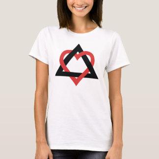 Camiseta del símbolo de la adopción