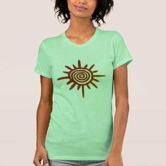 Camiseta del símbolo de Sun