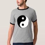 Camiseta del símbolo de Yin Yang Playeras
