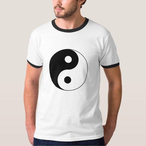 Camiseta del símbolo de Yin Yang Polera