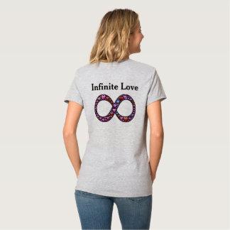 Camiseta del símbolo del infinito del amor 2