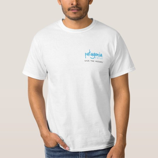 Camiseta del símbolo nacional de Chile azul claro