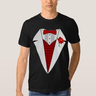 Camiseta del smoking del amante del el día de San Poleras