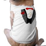 Camiseta del smoking del perro ropa de mascota