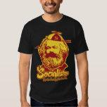 Camiseta del socialismo de Marx Poleras