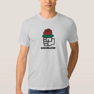 """Camiseta del """"socialismo"""" playeras"""