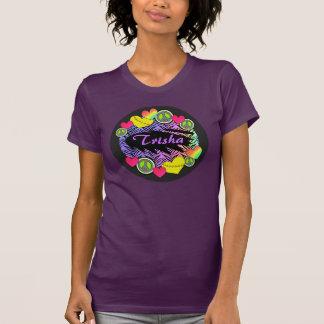 Camiseta del softball de Fastpitch del amor de la