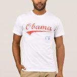 Camiseta del softball de Obama