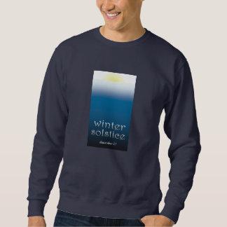 camiseta del solsticio de invierno sudaderas encapuchadas