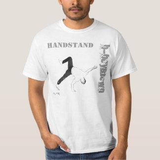 camiseta del soporte de la mano remera