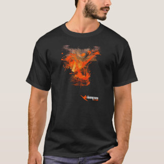 Camiseta del splat del FLASHKICK del hombre