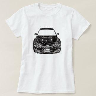 Camiseta del STi de Subaru WRX Poleras