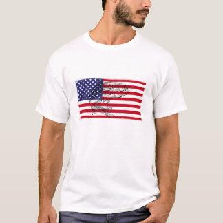 Camiseta del Striper del patriota de Fishmania