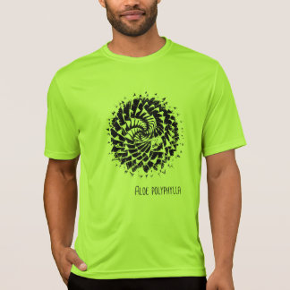Camiseta del Succulent del polyphylla del áloe
