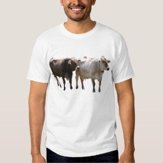 Camiseta del suizo de Brown Playeras