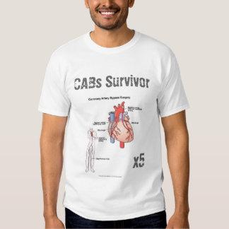Camiseta del superviviente de la cirugía de puente polera