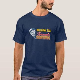Camiseta del superviviente del tornado