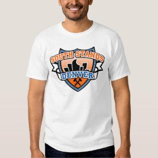Camiseta del sur de Denver Fancast de los soportes Poleras