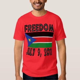 Camiseta del sur de la bandera de la libertad de remeras