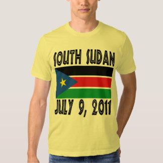 Camiseta del sur de Sudán Playera