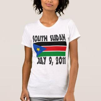 Camiseta del sur de Sudán Poleras