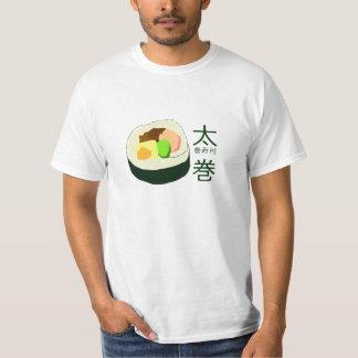 Camiseta del sushi de Futomaki Remera