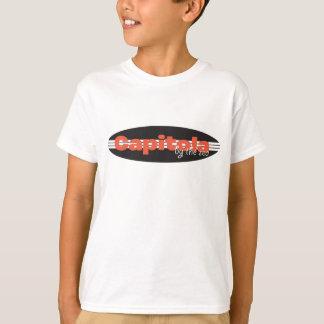 Camiseta del tablero de resaca de Capitola Playeras