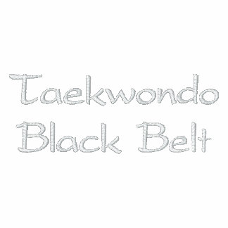 Camiseta del Taekwondo Chaquetas Bordadas