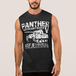 Camiseta del tanque de la pantera playera sin mangas