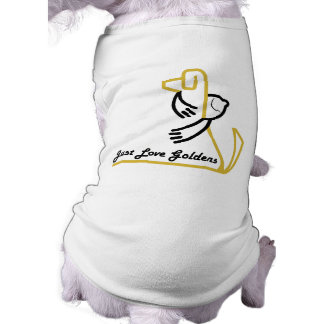 Camiseta del tanque del perro del golden retriever playera sin mangas para perro