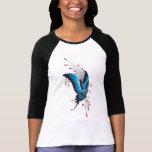 Camiseta del tatuaje de la mariposa
