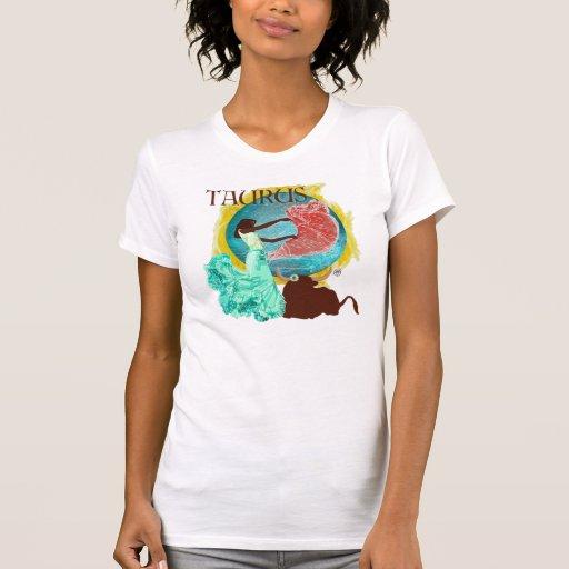 Camiseta del tauro remeras