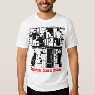 camiseta del taylorismo y del fordism playeras