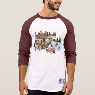 Camiseta del té de tarde polera