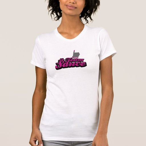 camiseta del #TeamSauce