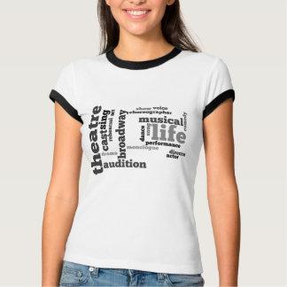 Camiseta del teatro remera