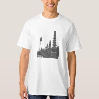 Camiseta del templo remera