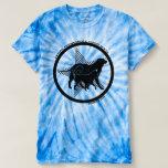 Camiseta del teñido anudado T.P.G.D. de los
