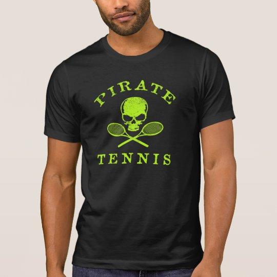 Camiseta del tenis del pirata