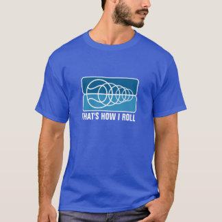 Camiseta del tenis para los hombres