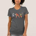 Camiseta del tenis polera