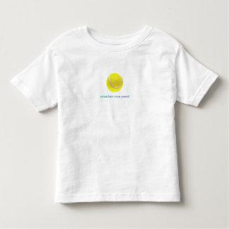 camiseta del tenis - semilla del número uno remera