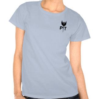 Camiseta del terapeuta físico