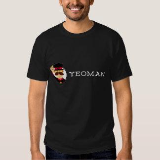Camiseta del terrateniente (oscuridad, de doble playeras