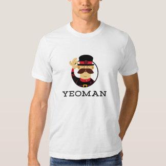 Camiseta del terrateniente poleras