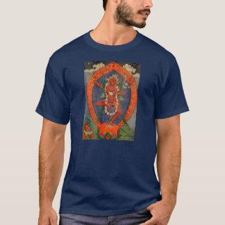 Camiseta del tibetano de Vajrayogini de la tela de